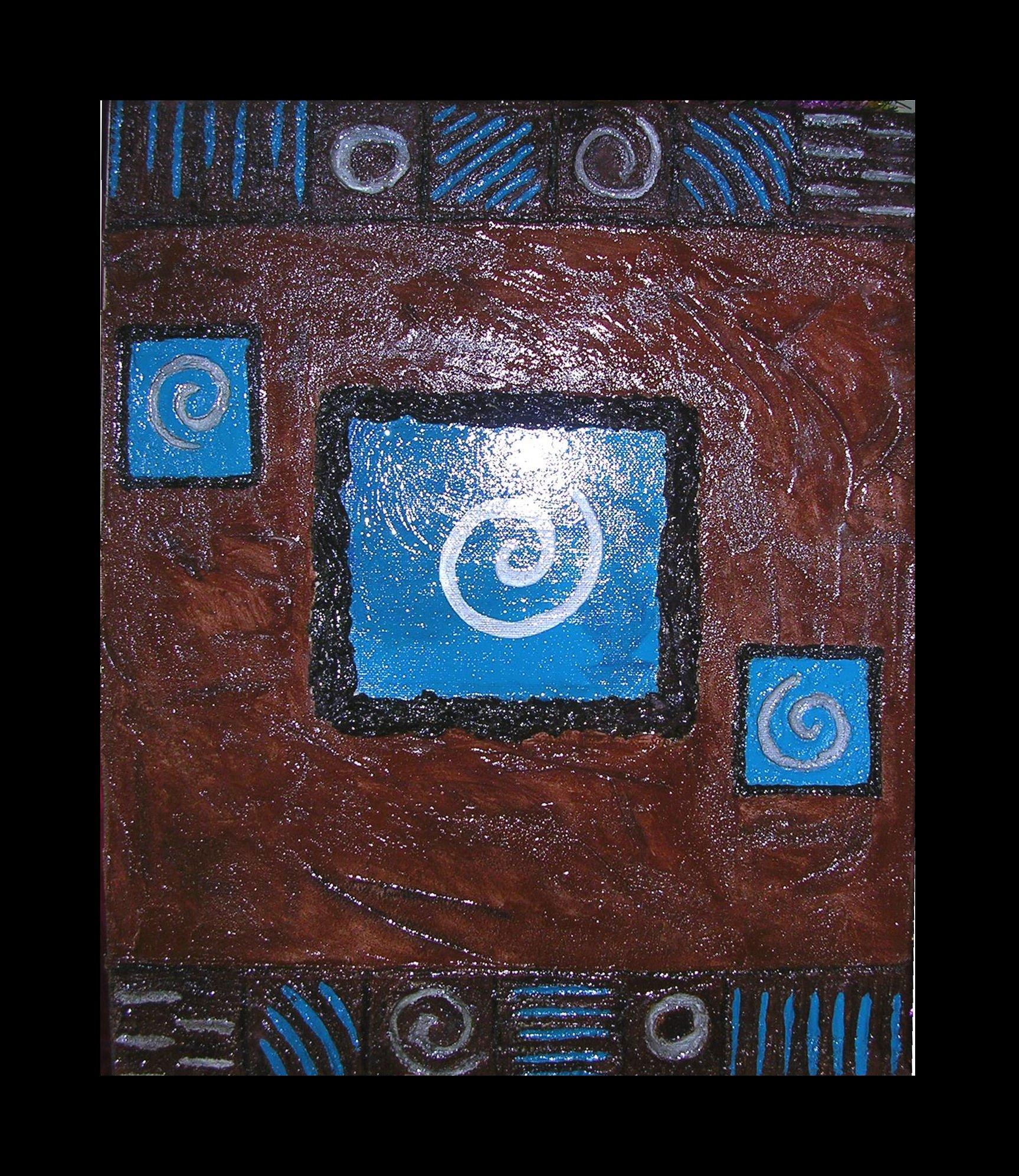 Cr artstyle peinture art d co archive du blog tableau moderne en relief - Peinture avec relief ...
